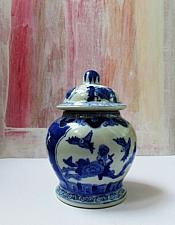 Buy Chinese Porcelain Vessel with Four Character Signature - Possible Ming, Daoguang