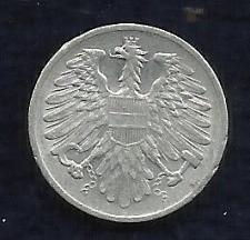 Buy Austria 2 Groschen 1962 Coin -Austrian Eagle with hammer & sickle