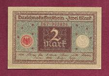 Buy GERMANY 2 Mark 1920 Banknote No 167-995824 - WEIMAR REPUBLIC P60 - UNC
