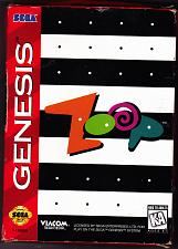 Buy Zoop - Sega Genesis 1995 Video Game - Very Good - COMPLETE