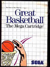 Buy Great Basketball - Sega Master 1987 Video Game - Acceptable