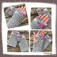 Buy Ladies Fingerless Gloves Crochet Digital Pattern