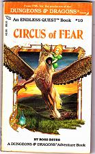 Buy Circus of Fear (Endless Quest Book, #10) by Rose Estes Paperback Book - Very Good
