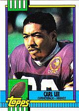 Buy Carl Lee #110 - Vikings 1990 Topps Football Trading Card
