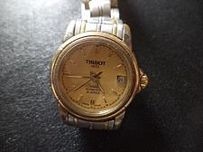 Buy BEAUTIFUL LUXURY TISSOT SEASTAR AUTOMATIC WATCH .SAPPHIRE CHRYSTAL. GP CROWN & BEZEL.