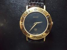 Buy LOVELY LADIES GUCCI 3000L QUARTZ WATCH .SAPPHIRE CHRYSTAL. GP CROWN & SIGNED BUCKLE.