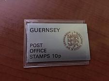 Buy Guernsey silver 10p booklet 8v. 1974 mnh stamps