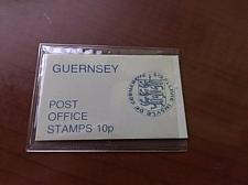 Buy Guernsey booklet 10p mnh 4v. 1978 mnh stamps