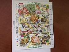Buy Guernsey Christmas m/s 1992 mnh stamps