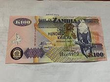 Buy Zambia 100 kwacha banknote 2008