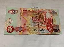 Buy Zambia 50 kwacha banknote 2008