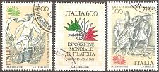 Buy [IT1615] Italy: Sc. no. 1615-1617 (1985) Used Complete Set