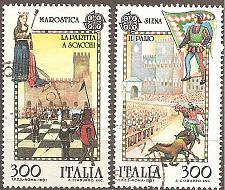 Buy [IT1455] Italy: Sc. no. 1455-1456 (1981) Used Complete Set