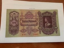 Buy Hungary 100 pengo banknote 1930 #a