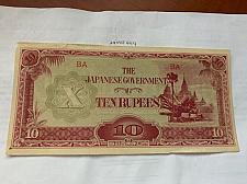 Buy Japan Burma 10 rupees 1942