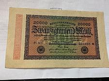 Buy Germany 20000 marks school ornament Weimar Republic banknote 1923