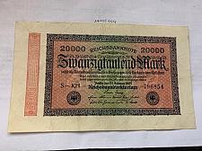 Buy Germany 20000 marks school ornament Weimar Republic banknote 1923 a