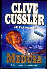 Buy NUMA Files - Medusa by Clive Cussler 2009 Hard Cover Book - Very Good