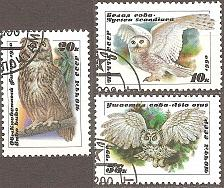 Buy [RU5871] Russia: Sc. No. 5871-5873 (1990) CTO Complete Set