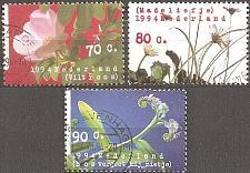 Buy [NE0853] Netherlands: Sc. no. 853-855 (1994) Used complete set