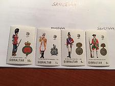 Buy Gibraltar Uniforms mnh 1973