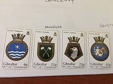 Buy Gibraltar Naval arms 1991 mnh