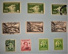 Buy 1935-1945 Over prints United States of America and Victory Issues