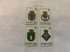 Buy Gibraltar Naval Arms mnh 1987