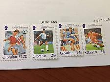 Buy Gibraltar Football Games mnh 1996 stamps