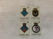 Buy Gibraltar Naval arms 1988 mnh stamps