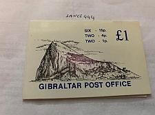 Buy Gibraltar Booklet with 10 stamps 1981 mnh stamps