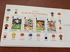 Buy Gibraltar Football Games s/s mnh 1996 stamps