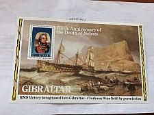 Buy Gibraltar Nelson s/s 1980 mnh stamps