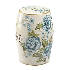 Buy JUST IN!!! Antique Floral Garden Stool