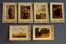 """Buy 1971 Russia (USSR-Era) """"Paintings"""" Stamps"""