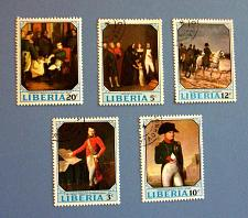 "Buy 1970 Liberia ""Napoleon"" Stamps"