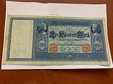 Buy Germany 100 mark large banknote 1910