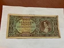 Buy Hungary 100000 pengo banknote 1945