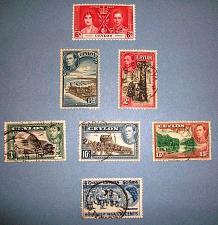 "Buy 1937-54 Ceylon ""George VI to Elizabeth II"