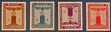 Buy 1938 Germany (German Empire Era) NSDPA Government Service Stamps
