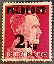 Buy 1944 Germany (German Empire Era- Third Reich) Feldpost WWII Parcel Post