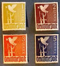 "Buy 1947 Germany (Allied Occupation Stamps) ""Germany Reaching for Peace"""