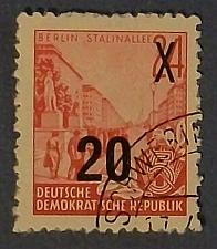 Buy G1954 Germany (DDR-Era) 5 year Plan Definitive Stamp
