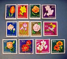 """Buy 1964 Poland """"Flowers in Natural Colors"""