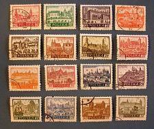 "Buy 1960's Poland ""Historic Cities"" Series"