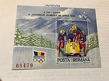 Buy Romania Olympic Games Albertville Bob s/s mnh 1992 stamps