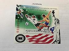 Buy Romania World Cup Footbal s/s mnh 1994 stamps