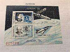 Buy Romania Europa Space s/s 1994 mnh stamps