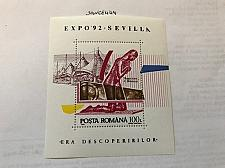 Buy Romania Expo Sevilla s/s mnh 1992 stamps