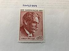 Buy Monaco Albert Schweitzer writer 1975 mnh stamps